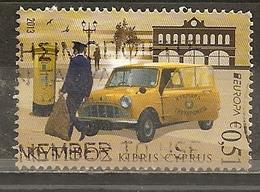Chypre Cyprus 2013 Europa Postman Obl - Cyprus (Republic)