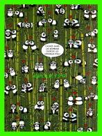 ADVERTISING, PUBLICITÉ - EDITIONS DES CORRESPONDANCES - CACHÉS DANS LES BAMBOUS CHERCHE LES AMOUREUX FOUS ! PANDA - - Publicité