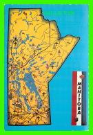 MAPS, CARTES GÉOGRAPHIQUES - MANITOBA - PHOTO BY TERENCE J. FOWLER - - Cartes Géographiques