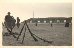PHOTO DU CHAMPS DE TIR DE LA ROCHELLE - FEVRIER 1955 - Places