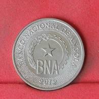 ANGOLA 50 CENTIMOS 2012 -    KM# 107 - (Nº22971) - Angola