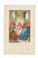 Image Pieuse. Canivet. La Cène: Christ Entouré Des Apôtres. (105) - Images Religieuses