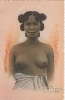 Madagascar Exposition Coloniale Internationale De Paris 1931 Madagascar Femme Vezo 379G - Madagascar