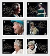 Alderney - Postfris / MNH - Complete Set 65 Jaar Kroning Koningin Elizabeth 2018 - Alderney