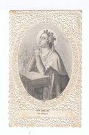 Image Pieuse. Sainte Amélie Priant. Santa Amelia. Editeur: Turgis Jeune, Paris. (107) - Images Religieuses