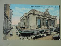 ETATS-UNIS NY NEW YORK CITY GRAND CENTRAL TERMINAL STATION - Transports