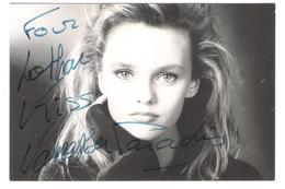 Autoramm - Autograph - Vanessa Paradis - Old Card Issue - Autographs