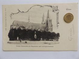 Cleve, Kleiner Marktplatz Mit Pfarrkirche, Kleve, 1901 - Kleve