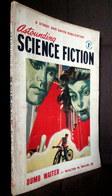 """ASTOUNDING SCIENCE FICTION""  N°9 VOL. VIII British Edition Vintage Magazine S.F Aug. 1952 ! - Sciencefiction"