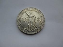 Belgique 50 Francs 1935 Wereldtentoonstelling FR - 08. 50 Francs