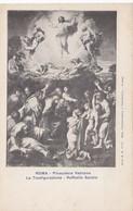 Cpa Ak Pk CPA Roma Pinacoteca Vaticana La Trasfigurazione Raffaelo Sanzio - Peintures & Tableaux