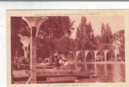 Cp , 75 , PARIS , Exposition Coloniale Internationale, 1931 , Le Lac Daumesnil ( Entrée Des Îles) - Expositions