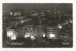Maroc Casablanca La Nuit Rue Blaise Pascal Photo Flandrin - Casablanca