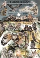 CZECH REPUBLIC- 2015- NOCTURNAL BIRDS- OWLS-HIBOUX-EULEN-UILEN-BUHOS) Eagle Owl- Little Owl - Eulenvögel
