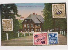 Sloup V Cechach, Sommerfrische Burgstein, Repubblica Ceca - F.p. - Anni '1920 - Czech Republic