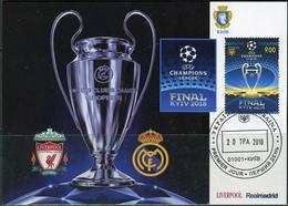 Ukraine 2018. #1639 - UEFA. Champions League. Final Kiev-2018. Maxicard (B33) - Championnat D'Europe (UEFA)