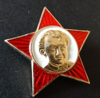 RUSSIA. USSR. Young Communist Lenin Star, Badge. Perfect ! - Celebrities