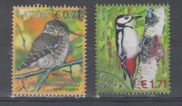 Latvia 2016 Mi 982-3 Used Birds - Lettonie