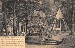 Rossignol Tintigny Cimetière Lieutenant Psichari Guerre 1914 - Tintigny