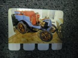 N° 75 - PLAQUE METAL En TOLE RENAULT Moteur Dion Bouton 3 CV De 1900 - AUTOMOBILE COOP Des Années 60 - Advertising (Porcelain) Signs