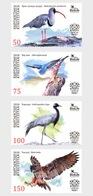 Kirgizië / Kyrgyzstan - Postfris / MNH - Complete Set Vogels 2018 - Kirgizië