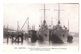 Nantes (44 -  Loire Atlantique) Contre Torpilleurs Construits Aux Chantiers De Bretagne Pour La République D'Argentine - Nantes