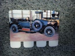 N° 74 - PLAQUE METAL En TOLE MERCEDES 100 CV De 1913 - AUTOMOBILE COOP Des Années 60 - Plaques Publicitaires