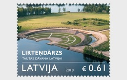 Letland / Latvia - Postfris / MNH - The Garden Of Destiny 2018 - Letland