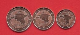 **  ESTONIE  -  1 + 2 + 5 Cent 2011  Neuves  ** - Estonia