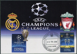 Ukraine 2018. #1639 - UEFA. Champions League. Final Kiev-2018. Maxicard (B33) - UEFA European Championship