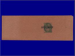 """FRANCE Entiers Postaux Yvert:111, Bande Journal, Surcharge Noire """"""""spécimen"""""""": 5c. Blanc      - Qualité: SPE . Cote: +10 - Postal Stamped Stationery"""