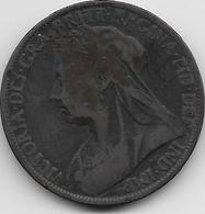 Grande Bretagne - Penny - 1897 - 1816-1901 : Frappes XIX° S.