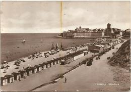 X2410 Termoli (Campobasso) - Panorama Della Spiaggia - Beach Plage Strand Playa / Viaggiata 1950 - Altre Città