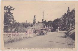 SAINT BARTHELEMY Le PIN La Route De Lamastre St Perray La Levée Du Courrier - Altri Comuni