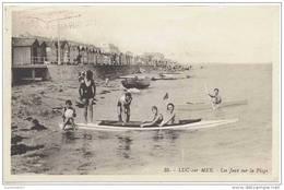 CPA LUC SUR MER - Les Jeux Sur Le Plage - Ed. G. Artaud N°35 - Belle Animation - Luc Sur Mer