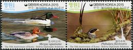Korea South. 2015. The 50th Anniversary Of Korea-Bolivia Diplomatic Relations (MNH OG **) Block Of 2 Stamps - Corée Du Sud