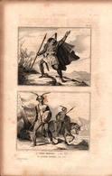 Angleterre - Chef Breton (en 450) - Anglo-Saxon (en 500) - Prints & Engravings