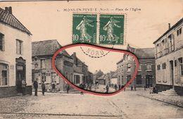 MONS En PEVELE -nord - Place De L'eglise - France