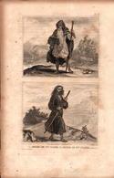 Angleterre - Druides De 1ère Et 2e Classe - Prints & Engravings