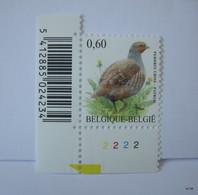 BELGIUM 2005. OCB # 3381. Pedrix Grise. PL 2. MNH - België