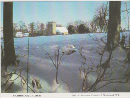Postcard - Suffolk - Washbrook Church - Photo By Mrs M Pearsons - VG - Postcards