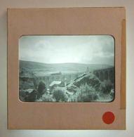 Plaque De Verre Positive Sous Carton - Chasseradès - Viaduc Ferroviaire De Mirandol - Glass Slides