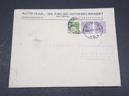 DANEMARK - Enveloppe Commerciale ( Illustrée Au Verso ) Pour Berlin En 1923 - L 17316 - 1913-47 (Christian X)