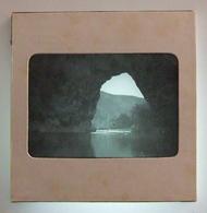Plaque De Verre Positive Sous Carton - Vallon Pont D'Arc - L'Arche - Pont D'Arc - Glass Slides