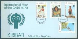 KIRIBATI - 28.11.1979 - FDC - YEAR OF THE CHILD  - Mi 342-345 Yv 21-24 - Lot 16795 - Kiribati (1979-...)