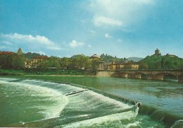 Po River And Gran Madre Di Dio Church.    Italy.  # 07562 - Churches