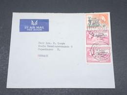 GHANA - Enveloppe Pour Le Danemark En 1958 , Affranchissement Plaisant - L 17324 - Ghana (1957-...)