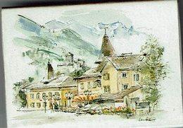 """Boite D'allumettes """" Paysage """" Vaduz (Liechtenstein) - Cajas De Cerillas (fósforos)"""