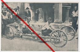 Il Giro Del Mondo - Reise Um Die Welt - Ein Deutscher Und Ein Italiener - Ca. 1910 - Riccardo Obersnu U Fitz Rautzenberg - Postcards