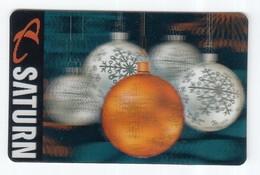 Geschenkkarte  Saturn  Gift  Kippkarte - Gift Cards